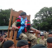 Cpl Sombahadur Chantyal 1 RGR wins Queen's Medal at Bisley 2013