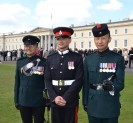 The First Gurkha Soldier to be commissioned as a Direct Entry officer into the RGR