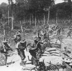 2 RGR in First World War