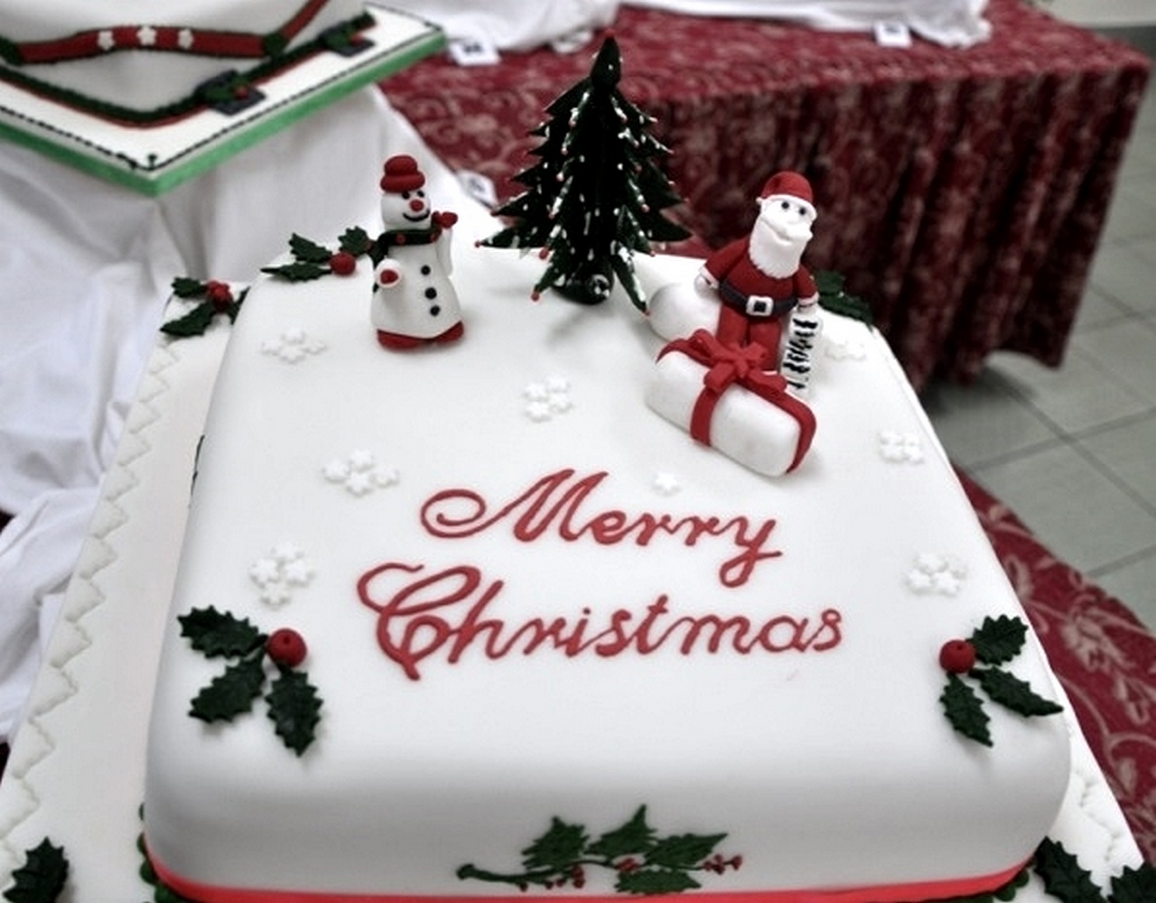 Brunei Garrison Christmas Cake Competition 2013   Welcome ...