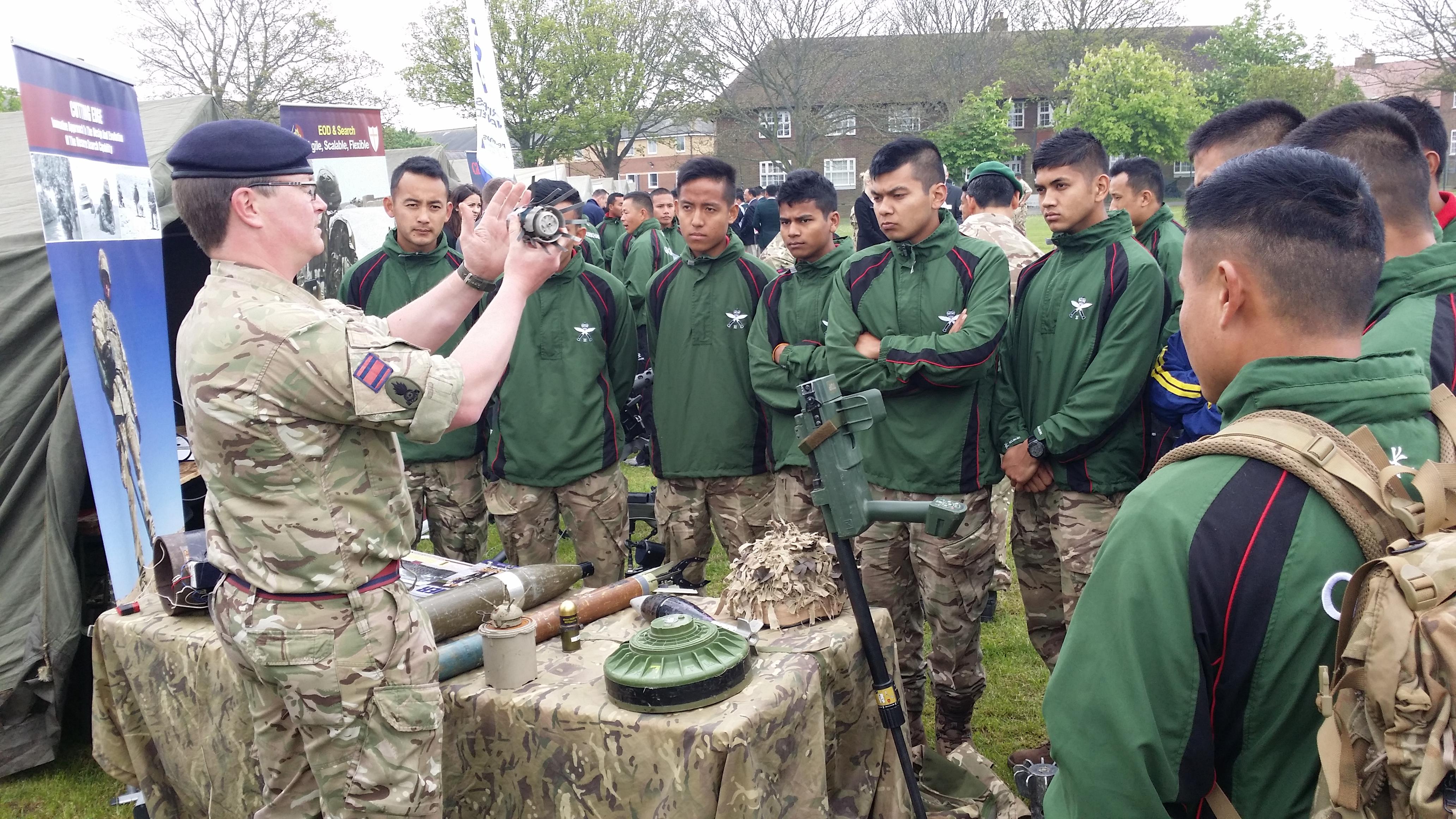 Brigade Of Gurkhas Employment Fair Welcome To The Gurkha