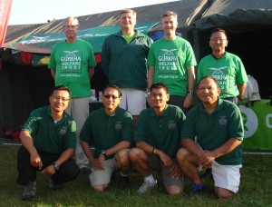 005 Gurkha Bhuros 14 and Support Team