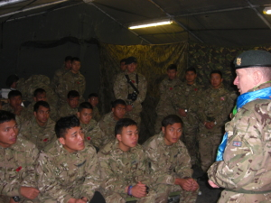 Meeting close support troop (5)
