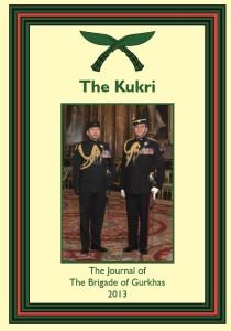 kukri cover 2013