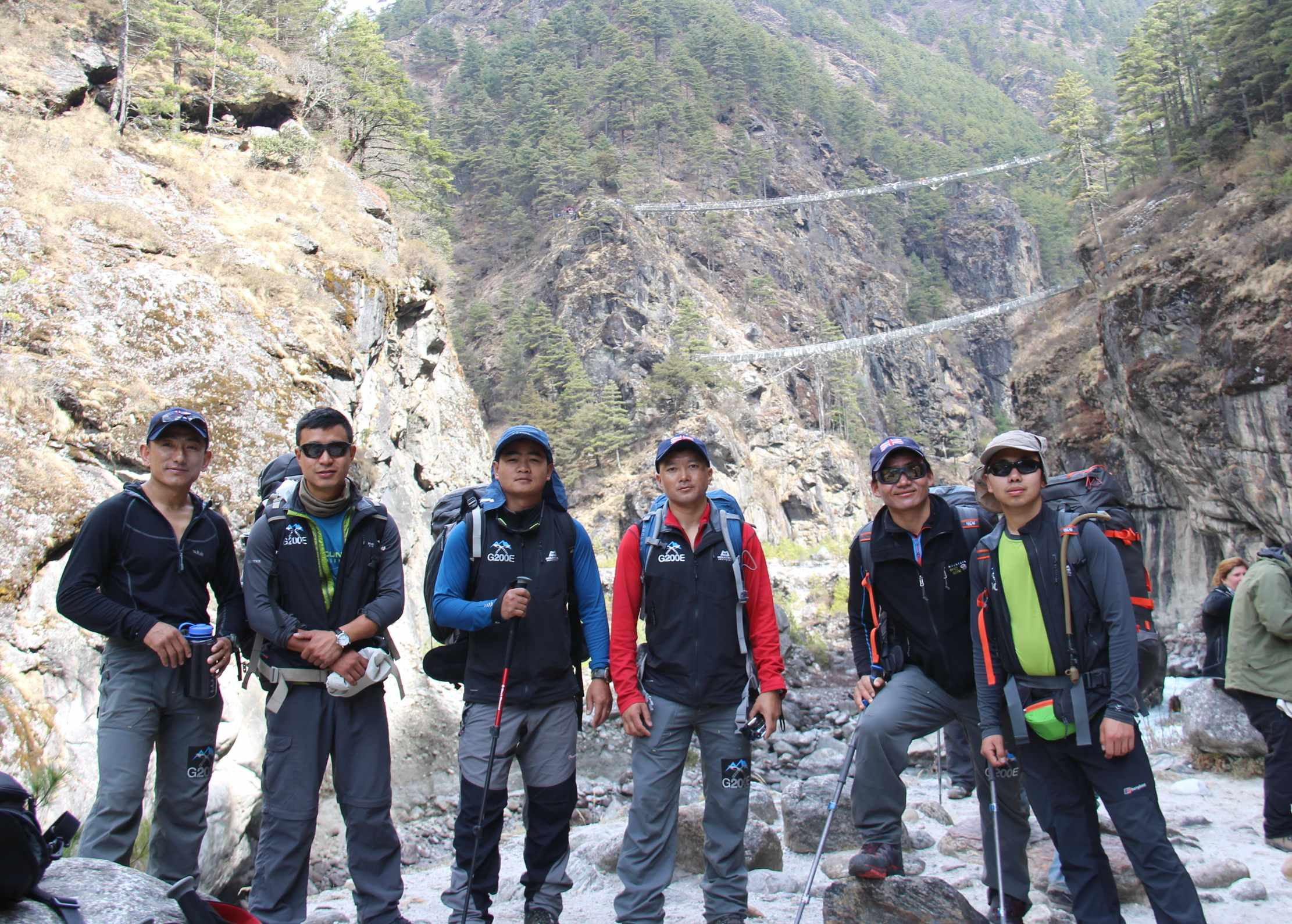 The Everest team