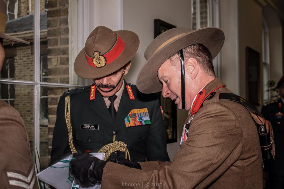 Indian Chief of the Army Staff Visits HQBG – Welcome to the Gurkha