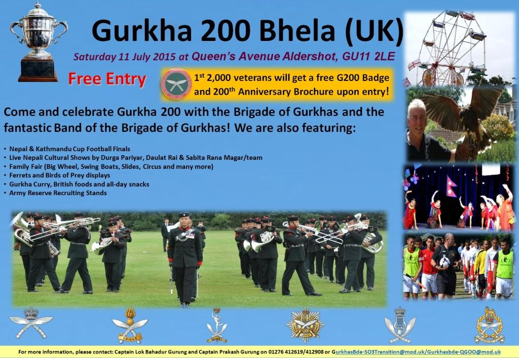 Gurkha Bhela 200 poster