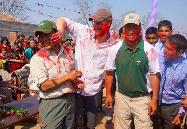 Prince Harry and Major Prakash Holi 2