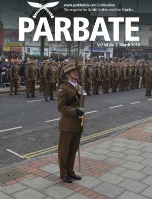 Parbate - March front cover