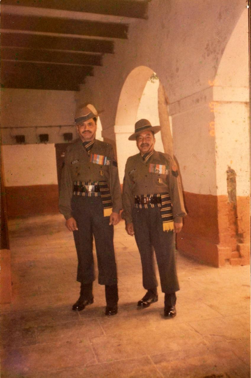 Sgt Bombahadur Chettri