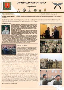 Catterick Newsletter