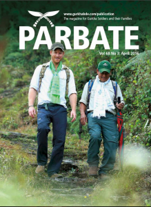 Click on the picture above to read the April 2016 edition of Parbate.