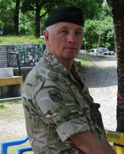 Lt Col Gary Blewitt in Nepal