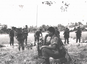 Gurkha soldiers during Malayan Emergency