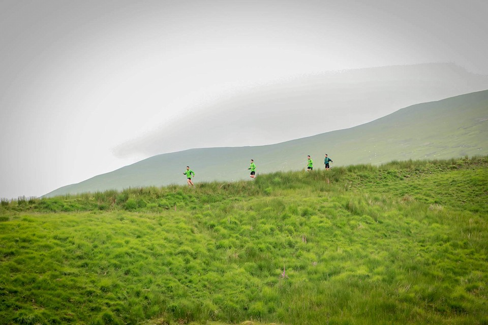 Racing across the Brecon Beacons