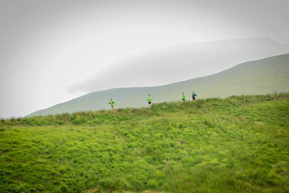 Racing across the Brecon Beacons