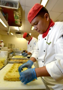 Gurkha chefs