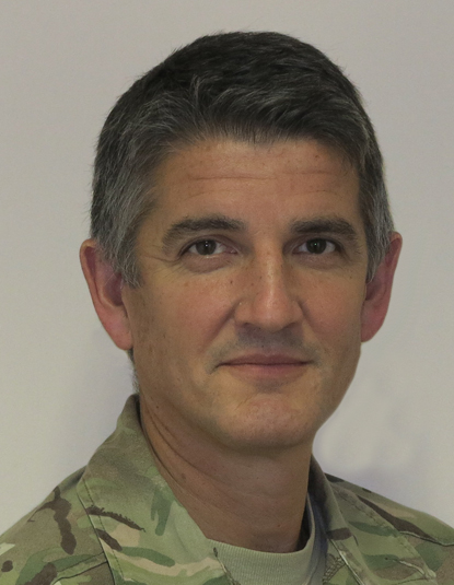 Lieutenant General Nick Pope