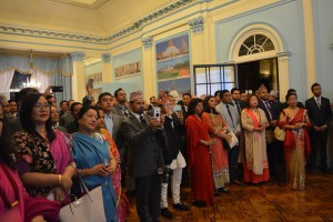 Dashain at the Nepal Embassy in London