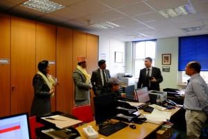 Ambassador pays a visit to GWAC