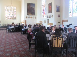 Lunch in the India Memorial Room