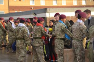 Welcome home to RGR soldiers