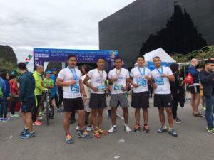 Halong Marathon 1 RGR team