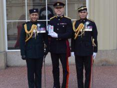 Major Mark Hendry MBE