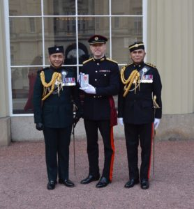 Major Mark Hendry received his MBE