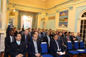 Nepalese Embassy audience at a lecture