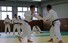 Gurkhas taking part in Judo