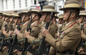 32ND ANNUAL GURKHA BRACON FREEDOM PARADE
