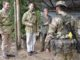 Image shows Their Royal Highnesses Prince Edward, The Earl of Wessex and Sophie, The Countess of Wessex flanked by Richard Lindsay, British High Commissioner to Brunei (left) and Sergeant Arjun, 2nd Battalion, The Royal Gurkha Rifles as they arrive in Sungai Liang Training Area near Seria.  His Royal Highness Prince Edward, The Earl of Wessex, and Her Royal Highness Sophie, The Countess of Wessex, today visited British Forces Brunei (BFB). Their Royal Highnesses were in Brunei representing Her Majesty Queen Elizabeth II at His Majesty the Sultan of Brunei's Golden Jubilee Celebrations. While there, they took the opportunity to pay a visit to the UK's only permanent military post in the Far East.   Their Royal Highnesses were flown into a rain-sodden jungle by helicopter. After donning standard army attire, they set foot in the dense undergrowth, guided by soldiers from 2nd Battalion The Royal Gurkha Rifles (RGR), with birds shrieking as the humidity hit 75 per cent.  The Earl and Countess were first shown how the Gurkha troops track enemy combatants in the jungle through a combination of footprints and other tell-tale signs such as disturbed leaves and broken twigs. Their Royal Highnesses then walked a narrow, rocky path before seeing how the Gurkhas trap wild animals and birds for survival in the jungle and learning how the Nepalese soldiers build shelters, find and filter water as well as fuel for fire.   The Royal jungle tour finished with a cooking demonstration by the Gurkhas. Prince Edward and Sophie sampled fruit plucked from nearby trees and talked to Nepalese soldiers about their experiences serving Queen and country. These include eight tours of Afghanistan between 2003 and 2016 as well as other trouble-spots across the world such as Sierra Leone, Bosnia, Kosovo and East Timor.  06/10/2017.