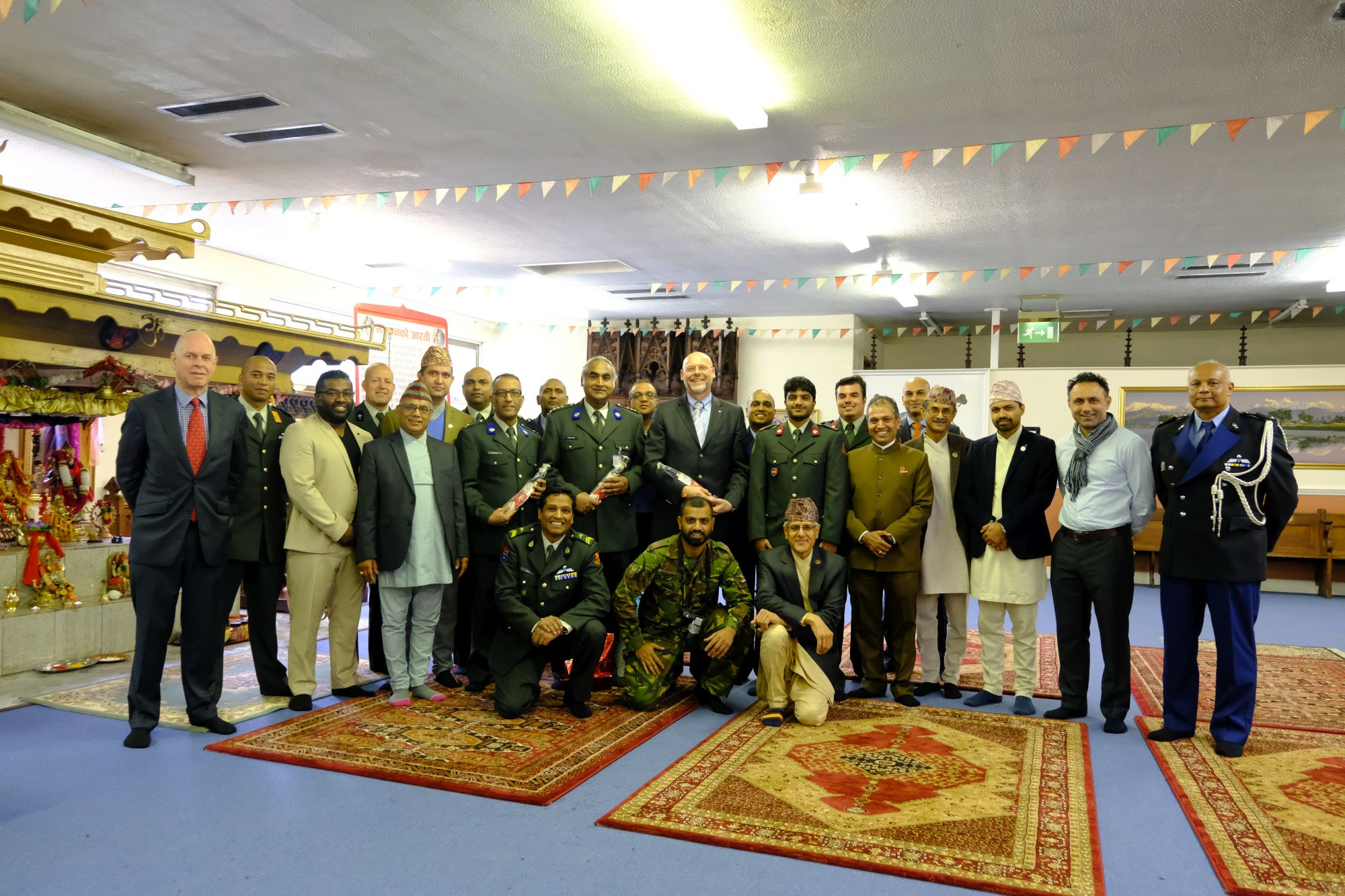 Dutch Army Visit HQBG 006