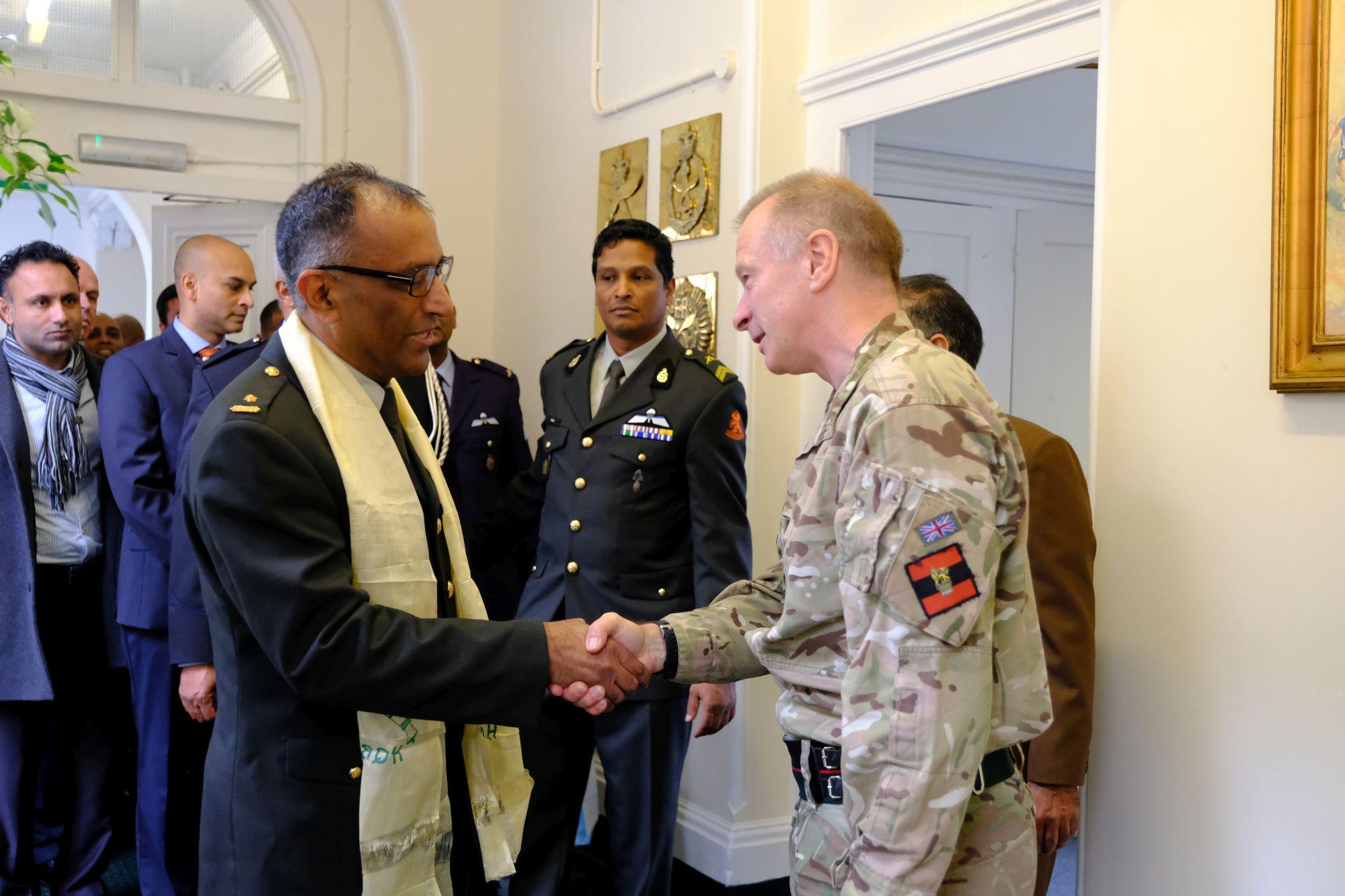 Dutch Army Visit HQBG 012