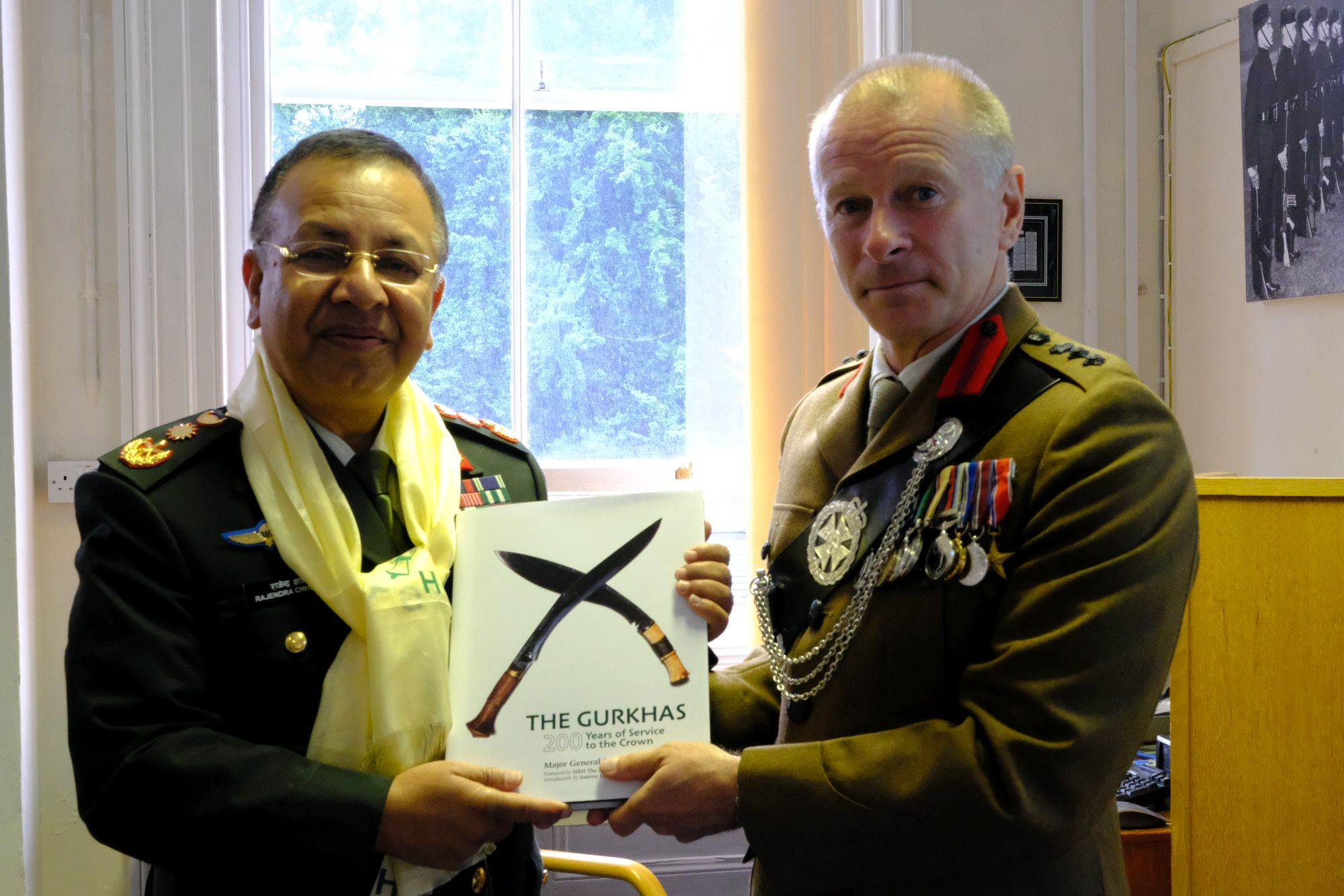 Gen Chhetri COAS Nepal Army visit to HQBG 011