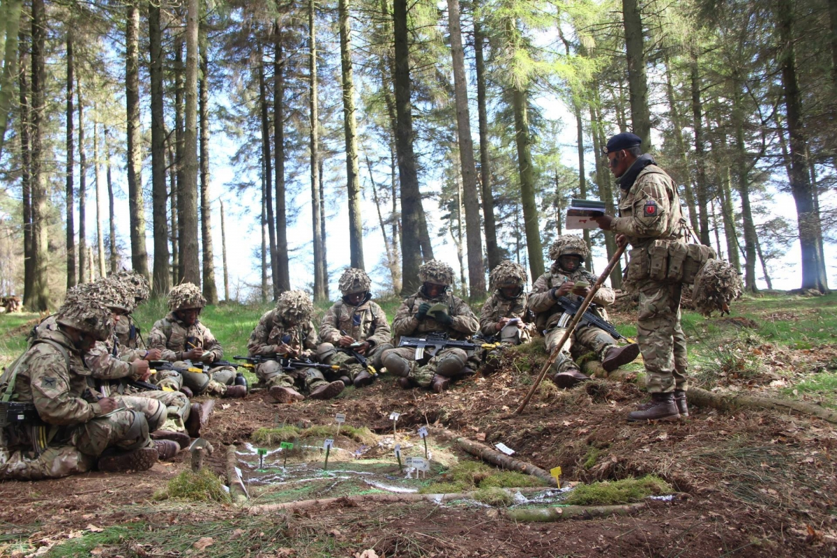 Gurkhas training