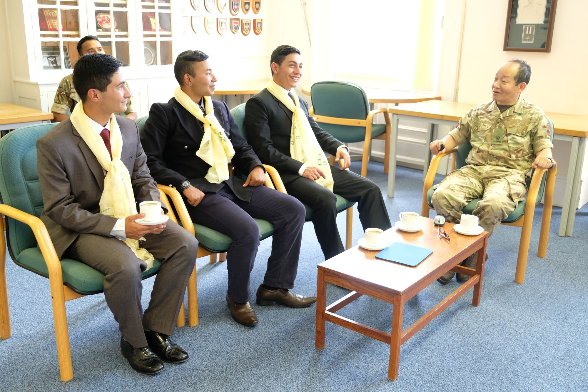HQBG visit by Nepalese Officer Cadets 001