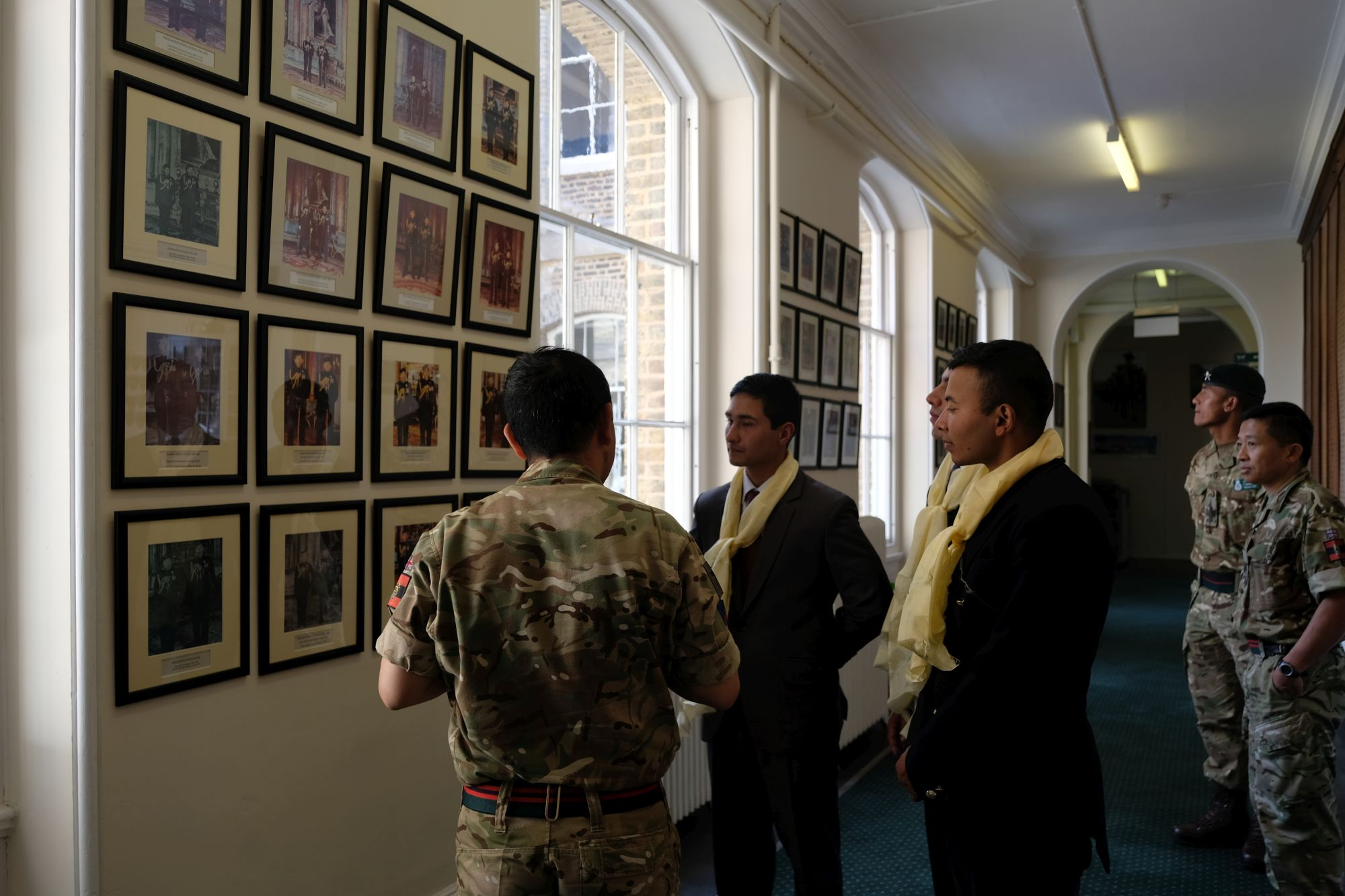 HQBG visit by Nepalese Officer Cadets 004
