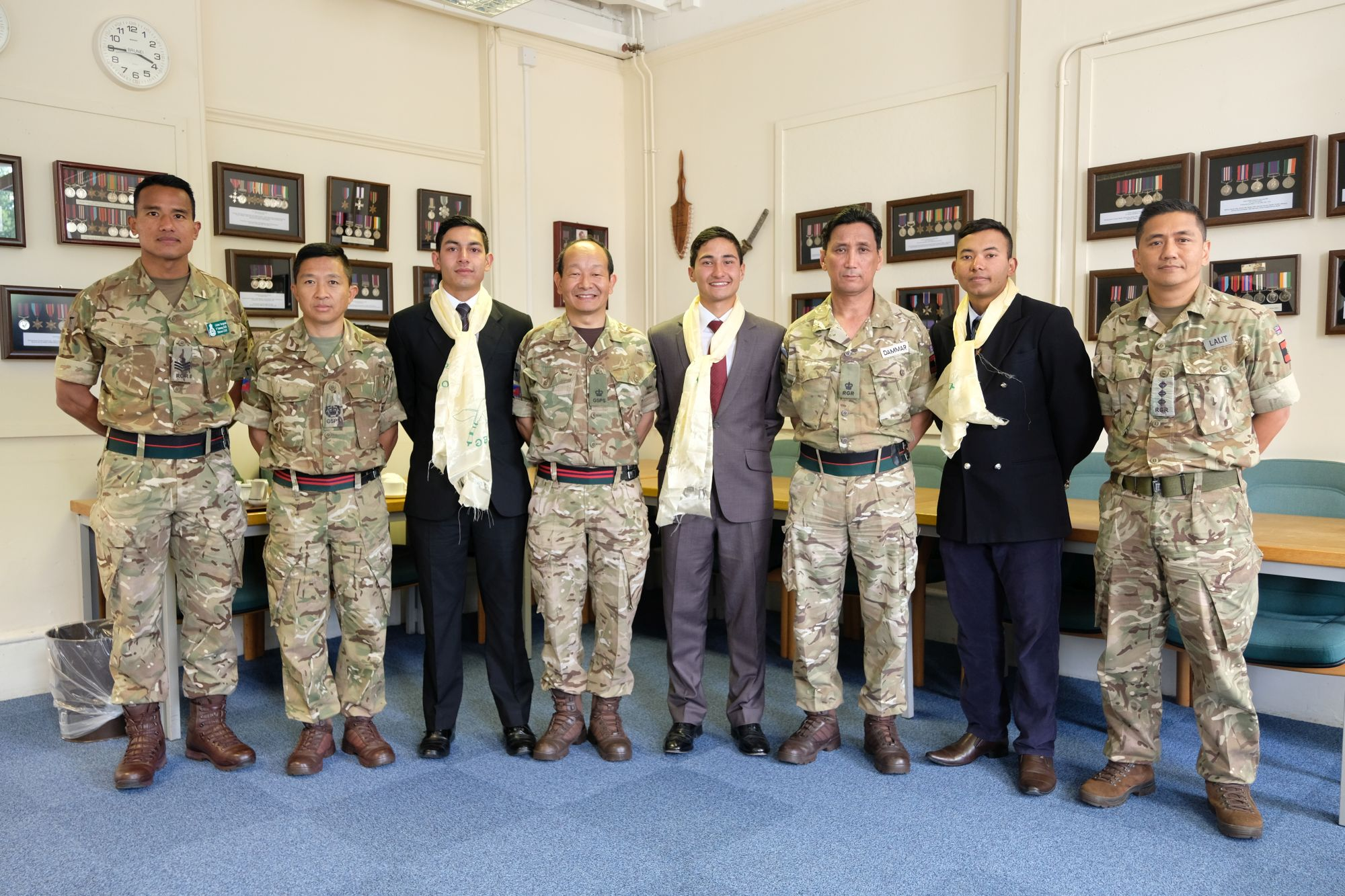 HQBG visit by Nepalese Officer Cadets 005