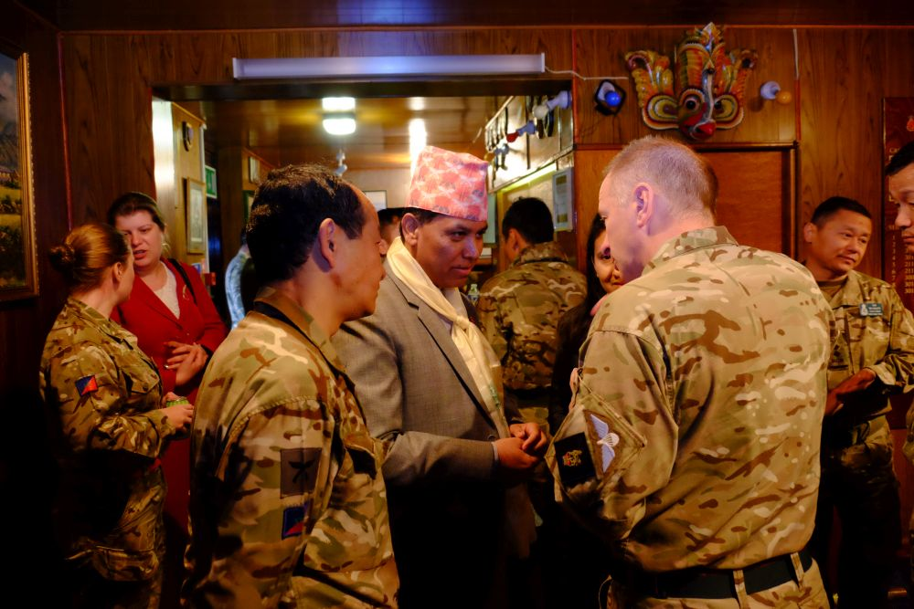 Nepal Ambassador visit
