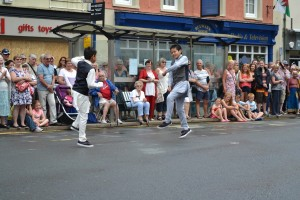 Brecon Freedom Parade (1)