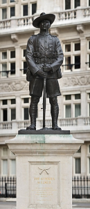 Gurkha Statue in London