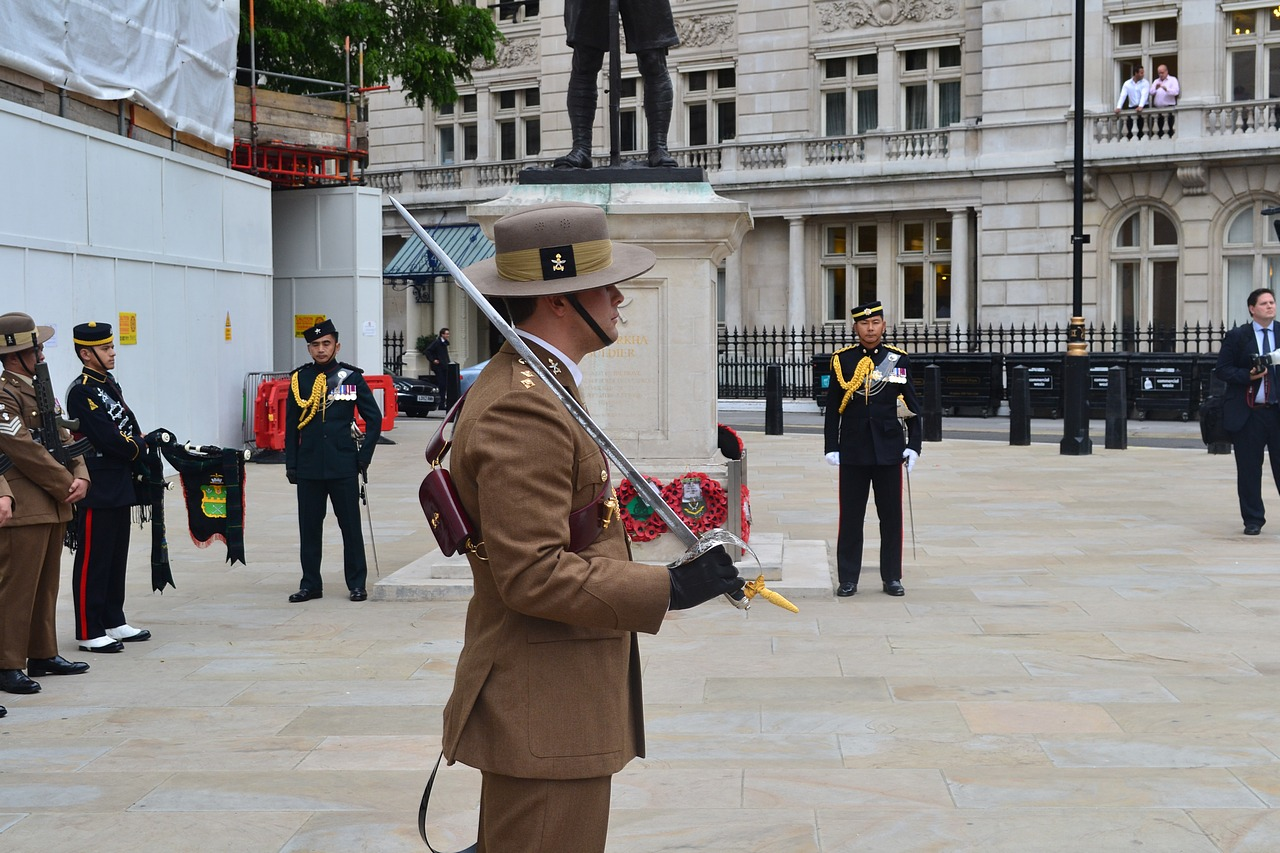 Wreath laying ceremony at Gurkha Statue | Welcome to the ...