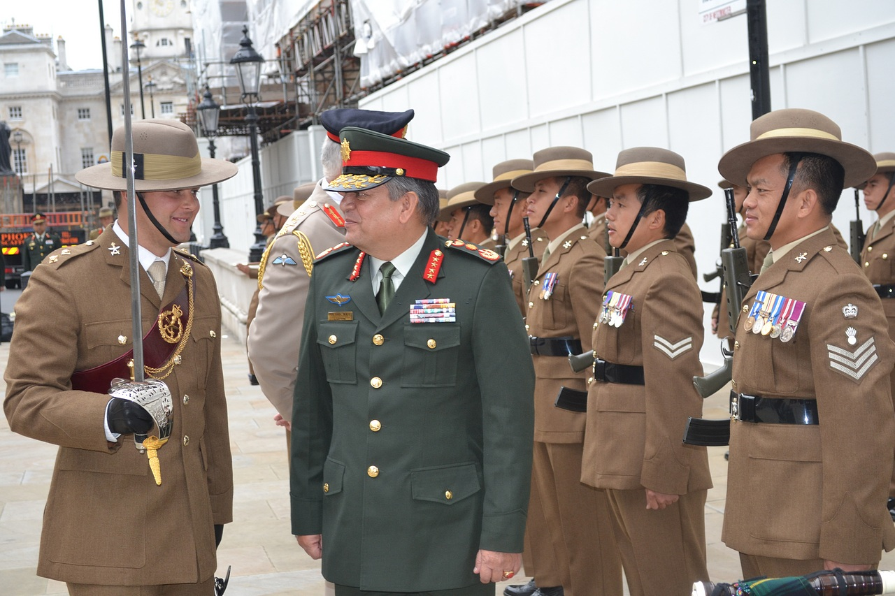 wreath laying ceremony at gurkha statue � welcome to the