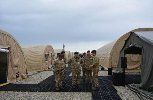 Col BG visit the Gurkhas at St Mawgan