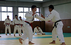 Gurkhas taking part in Judo