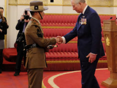 Colour Sergeant (CSgt) Raj Rai 2 Royal Gurkha Rifl