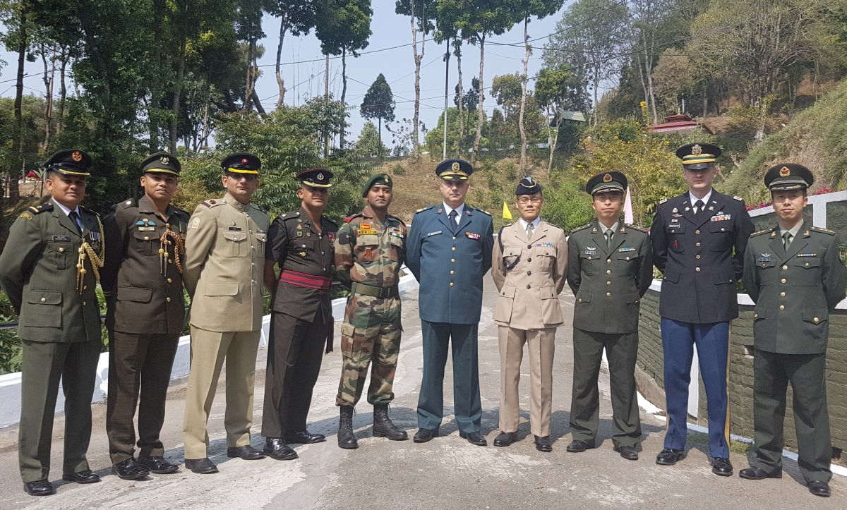 Nepali Army Command and Staff Course | Welcome to the Gurkha
