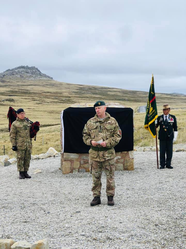 Falklands memorial service takes place   Welcome to the
